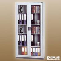 直销通体玻璃移门柜展示柜金属移门文件柜资料柜