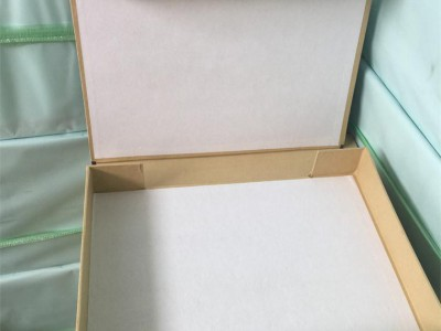现货硬纸板档案盒 红布边A4纸板档案盒 5cm硬纸壳档案盒定做