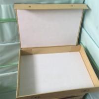 现货硬纸板雷竞技竞猜盒 红布边A4纸板雷竞技竞猜盒 5cm硬纸壳雷竞技竞猜盒定做
