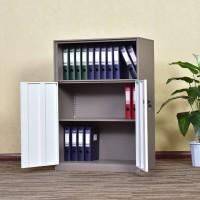 钢制拆装文件柜办公室long8国际平台娱乐柜a4办公桌边柜带锁落地套色储物柜