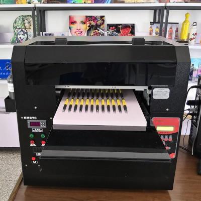 昆明环保数码打印机 LED即打即干 笔身图案直喷打印 UV平板打印机