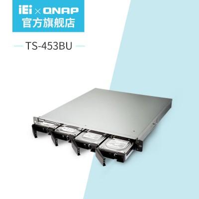QNAP威联通TS-453BU-4G单电企业级四盘机架式网络存储器NAS含导轨