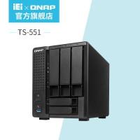厂家直销新品QNAP威联通TS-551双核心4K影像五盘位网络存储器NAS