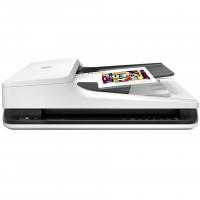 惠普/HP SCANJET PRO 2500f1平板高速彩色双面文档扫描仪