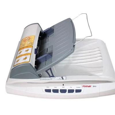 方正Z812平板扫描仪A4馈纸式双平台高速自动进稿连续扫描CCD元件