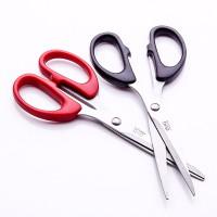 得力剪刀6010家用裁纸刀剪纸刀办公手工剪刀大号不锈钢剪刀210mm