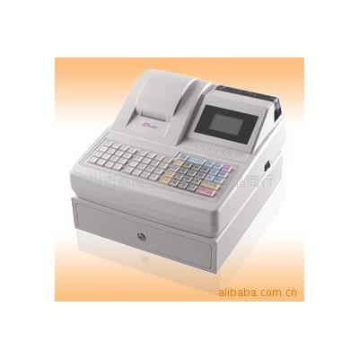 广州中崎收银机 中崎ECR-1000收款机 五行中文液晶显示电子收款机