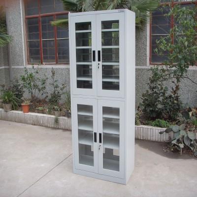 降价销售 文件柜 定制带锁双开门书籍资料铁皮柜 厂家直销
