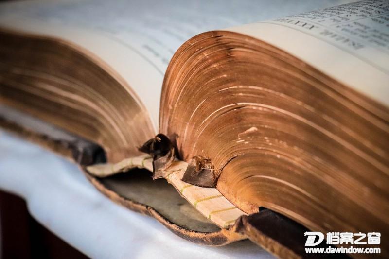 图书档案纸质酸化危机